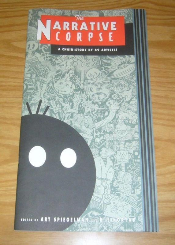the Narrative Corpse #1 VF/NM robert crumb - daniel clowes - kaz - chris ware 95