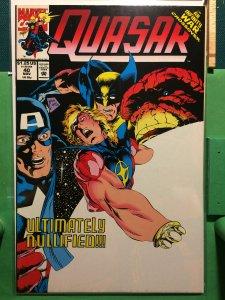 Quasar #40 Infinity War crossover