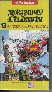 Video VHS: Mortadelo y Filemon numero 13: La estatua de la libertad