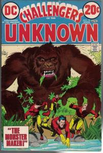 CHALLENGERS OF THE UNKNOWN 79 FN+ April 1973