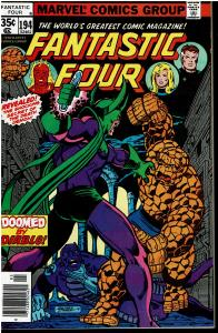 Fantastic Four #194, 8.0 or Better - Diablo and Darkoth Appearance