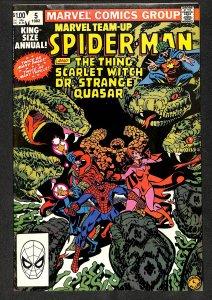 Marvel Team-Up Annual #5 (1982)