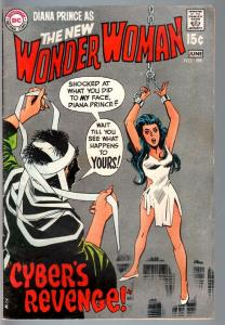 WONDER WOMAN #188 1970-WW chained up on cover!-DC SILVER AGE-vg VG