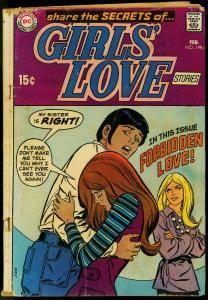 GIRLS LOVE #149 1970-DC COMICS-FORBIDDEN LOVE-ROMANCE G