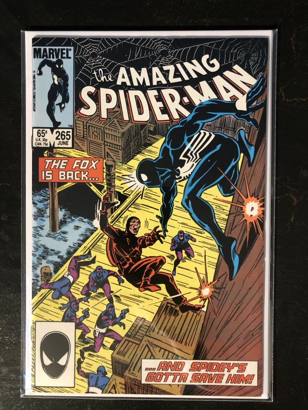Amazing Spider-Man #265 - 1st App. Of Silver Sable