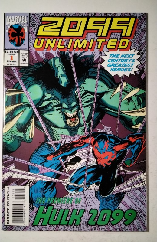 2099 Unlimited #1 (1993) Marvel Comic Book J757