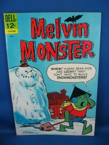 MELVIN MONSTER 8 NM 1967 John Stanley Art