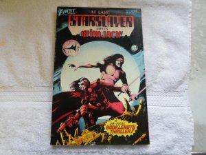 1984 FIRST COMICS STARSLAYER # 18