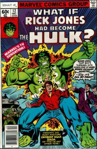 What If... #12 - VF/NM - Rick Jones had Become the Hulk?