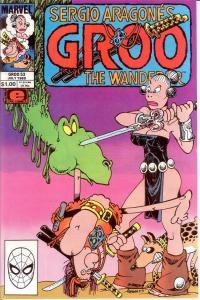 GROO 53 VF-NM July 1989 SERGIO ARAGONES COMICS BOOK