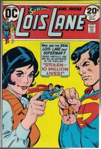 LOIS LANE 134 FN-  Oct. 1973