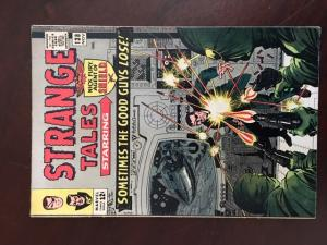 STRANGE TALES #138 VF- 1ST ETERNITY! DR STRANGE! NICK FURY! SILVER MARVEL!!!