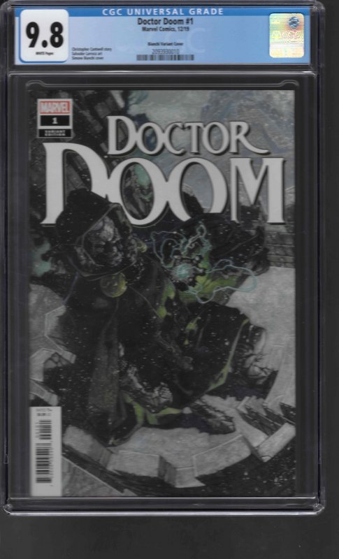 Doctor Doom #1 (2019) CGC Graded 9.8 Variant
