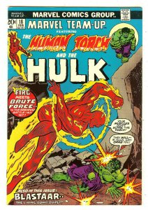 Marvel Team-Up 18   Human Torch & Hulk