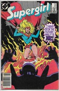 Supergirl (vol. 2, 1982) #22 VG Kupperberg/Infantino, Barreto cover