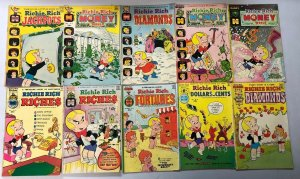 Older Richie Rich Comic Lot 41 Different Very Good to Excellent Condition