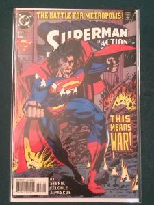 Action Comics #699 The  Battle For Metropolis!