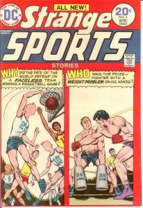 STRANGE SPORTS STORIES 4 VF-NM April 1974 COMICS BOOK