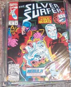 Silver Surfer #77 (FEB 1993, Marvel) jack of hearts+ nebula
