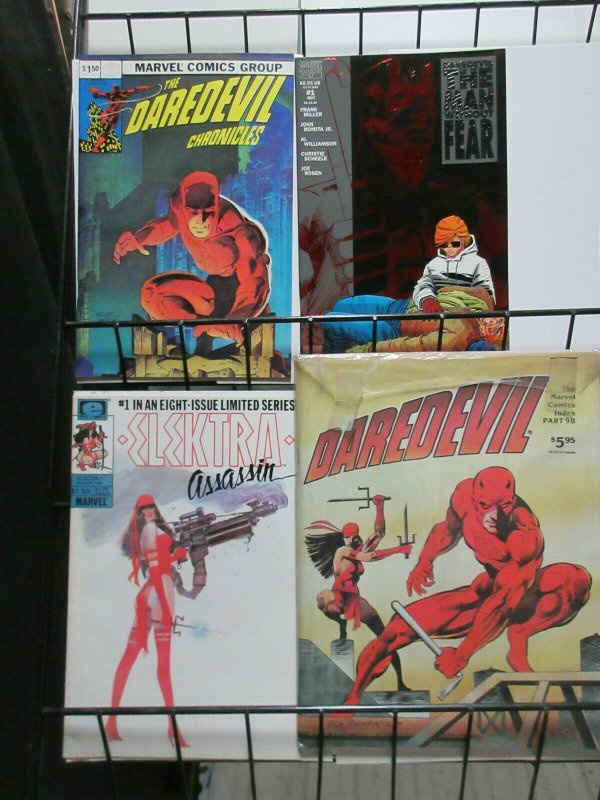 Daredevil Starter Set: Two Comics, Two Guide Books Man without Fear FRANK MILLER