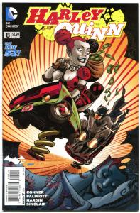 HARLEY QUINN #8, VF/NM, Amanda Conner, Jimmy Palmiotti, 2014, more HQ in store