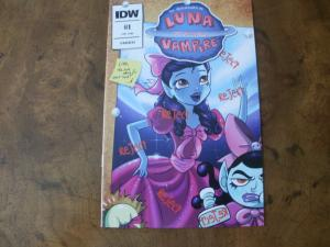 The Adventures of Luna the Vampire #1 (IDW) 2016