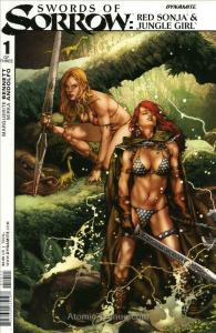 Swords of Sorrow Red Sonja & Jungle Girl #1A VF; Dynamite | save on shipping - d