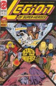 Legion of Super-Heroes (1989 series) #13, VF+ (Stock photo)