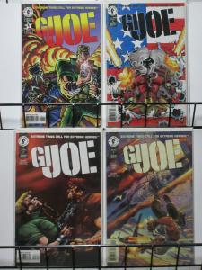 GI JOE (Dark Horse, 1996) #1-4 vf-nm COMPLETE Mike Barr!