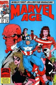 Marvel Age #112, NM- (Stock photo)