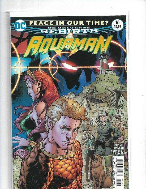 Aquaman #16 Rebirth Comic 1st Print 2016 New mix1