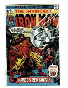6 Iron Man Marvel Comics # 83 84 85 86 87 88 Tony Stark Blizzard Blood J451