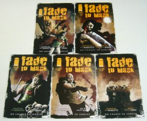 Fade to Black #1-5 VF/NM complete series - cannibal horror set 2 3 4 2010 lot