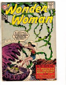 Wonder Woman # 128 FN DC Comic Book Diana Prince Justice League Silver Age J241