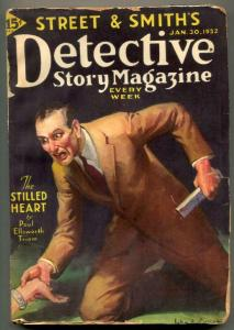 Detective Story Pulp January 30 1932- Stilled Heart