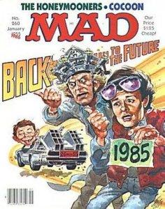 Mad (1952 series) #260, Fine (Stock photo)