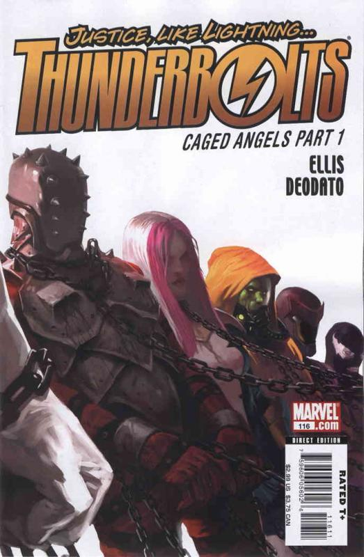 Thunderbolts #116 FN Marvel - save on shipping - details inside