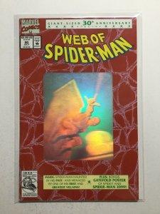 Web Of Spider-Man 90 Near Mint Nm Marvel