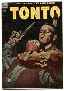 Tonto #16 1954- Dell Western- Lone Ranger's companion VG+