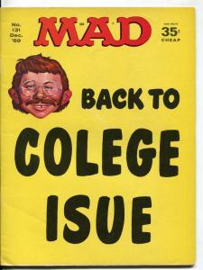 Mad-Magazine-#131-1969-Mort Drucker-Don Martin-David Berg