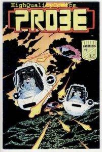 PROBE #1, NM, Imperial Comics, 1987, Sci-Fi, Aliens, more indies in store