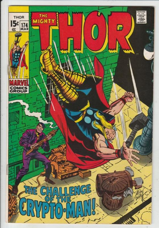 Thor, the Mighty #174 (Mar-70) NM/NM- High-Grade Thor
