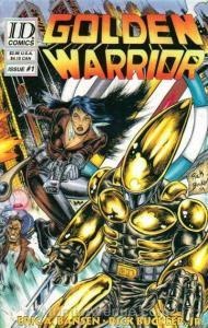 Golden Warrior #1 VF/NM; Industrial Design | save on shipping - details inside