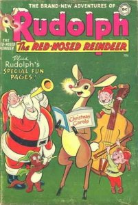 Rudolph the Red-Nosed Reindeer Annual #1954 GD; DC   low grade comic - save on s