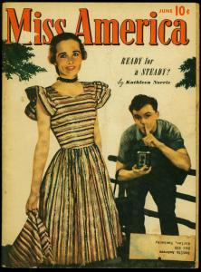 Miss America Vol. 6 #2 1947- Timely Comics- Patsy Walker- Fashions VG