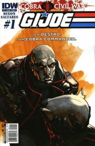 G.I. Joe: Cobra Civil War #1B VF/NM; IDW | save on shipping - details inside