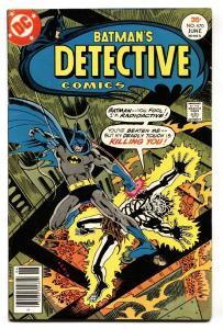 DETECTIVE COMICS #470-1st appearance of Silver St. Cloud-Gotham TV-Comic book