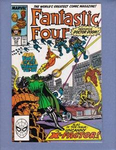 Fantastic Four #312 VF/NM X-Factor Dr Doom Black Panther Marvel 1988