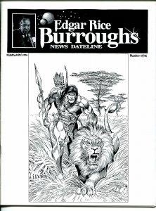 Edgar Rice Burroughs News Dateline #55/56 1996-Tarzan-comics-books-pulps-VF