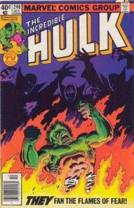 Incredible Hulk (1968 series) #240, VG (Stock photo)